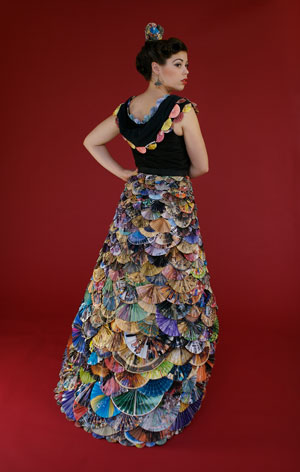 Fan mail dress by Nancy Judd