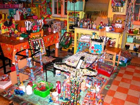 Cynthia Korzekwa's studio