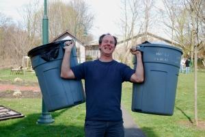 Organizer and trash superhero Tom Adelman