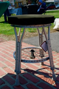 Upcycled medical equipment