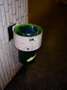 Decorative dumpster Hornstull