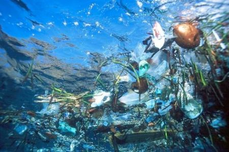 Underwater trash photo via RedOrbit