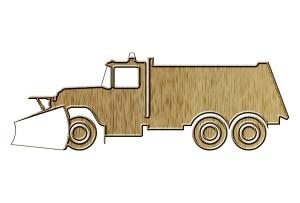 Snowplow truck pictogram, by Kriss Szkurlatowski